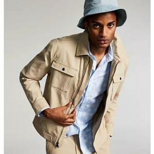 INC International Concepts Regular Fit Stretch Twill Jacket